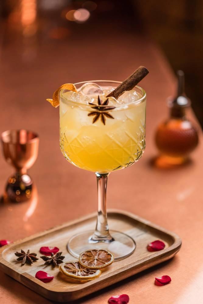 Cocktail d'ANGLETERRE - Cocktail Pondichéry